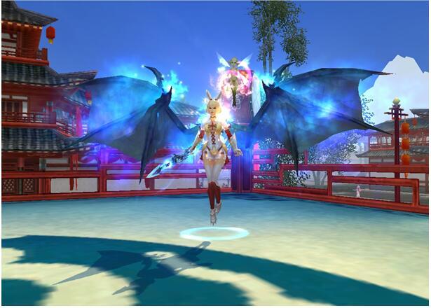 >> 《武神》炫酷恶魔之翼和天使之翼详解图片
